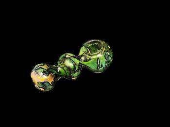 """4""""/110 Gr. 3 BALL GREEN AND GOLD ART"""