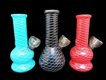 "5"" NET ART MINI WATER PIPE"