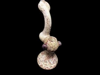 """7.5""""-250 Gr. MARBLE ART BUBBLER"""