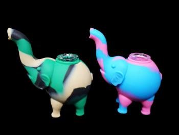 "4""/100 Gr SILICONE ELEPHANT/ MIX COLOR"