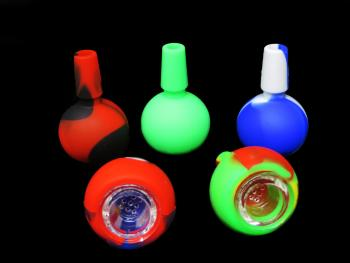 14 MM SILICONE BOWL/ MIX COLOR