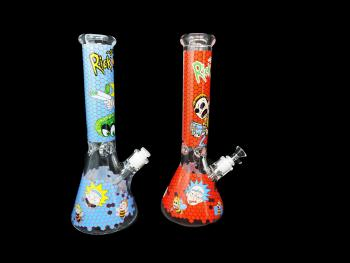 R&M MIX COLOR WATER PIPE- 9MM